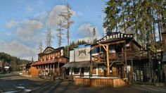 Šiklův mlýn Wild West Town Czech Republic
