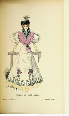 La Grande dame : revue de l'élégance et des arts / publiée sous la direction de F.G. Dumas | 1895 | Gallica