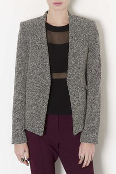 Tall Neppie Cropped Blazer