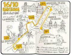 29º sketchcrawl y 3º maratón del dibujo a barcelona by lapin barcelona, via Flickr