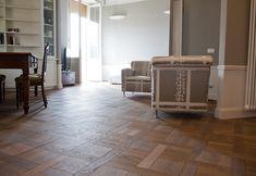 r alisation de l ensemble d un rdc d une maison individuelle avec un parquet contrecoll. Black Bedroom Furniture Sets. Home Design Ideas