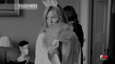 KATE MOSS for PLAYBOY Backstage Photoshoot by Fashion Channel (+playlist)