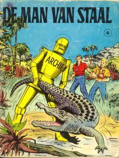 Archie de man van staal ( man of steel commic book netherlands)