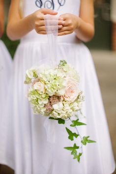 Pomander: http://www.stylemepretty.com/south-carolina-weddings/greenville-south-carolina/2015/05/11/romantic-fall-wedding-at-huguenot-mill/ | Photography: Ashley Seawell - http://ashleyseawellphotography.com/