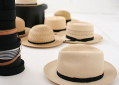 d'antan....I wish one of these hats(male or female)would look great on me! I'm jealous..