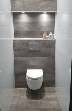 Meuble Wc Castorama with Wc Suspendu … Of Meuble Wc Ikea Meuble Wc Suspendu 10 Messages Source Small Bathroom Colors, Bathroom Design Small, Bath Design, Mold In Bathroom, Small Toilet, Downstairs Toilet, Toilet Room, Toilet Design, Bathroom Inspiration