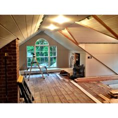 attic redo.. So getting a window like that