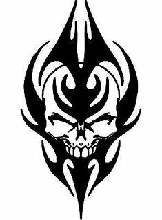 Skull Tattoo Design, Tribal Tattoo Designs, Skull Design, Skull Tattoos, Body Art Tattoos, Ship Tattoos, Ankle Tattoos, Arrow Tattoos, Tribal Wolf Tattoo
