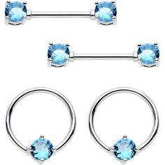 ND/_ 1 Pair Amazing Surgical Steel Love Nipple Shield Bar Ring Body Piercing Dr