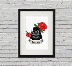 Hey, I found this really awesome Etsy listing at https://www.etsy.com/listing/122257906/darth-vader-tattoo-cross-stitch-pdf