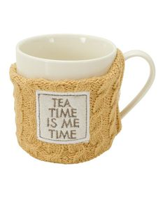 This Yellow Sweater 14-Oz. Mug - Set of Two is perfect! #zulilyfinds