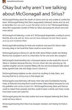 Sirius Black and McGonagall part 1