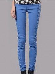 Trendy Patchwork Leggings