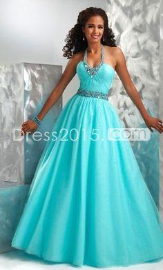 blue prom dress for high school