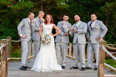 With the boys! Photography by Kara Stovall Photography. Murrells Inlet, SC  #happilyeverhightower #hightowerpower #lakehouseatbulow #charlestonwedding #charleston
