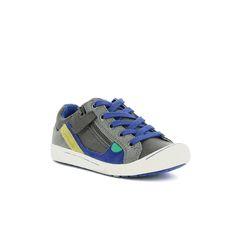 Zapatos niño - Kickers - Zigzaguer Gris