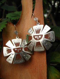 Silver Accessories, Leather Tooling, Metal Working, Washer Necklace, Boho, Christmas Ornaments, Holiday Decor, Earrings, Gifs