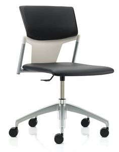 Ikon Swivel Chair With Upholstered Seat Conference Chairs, Swivel Chair, Ikon, Office Furniture, Environment, Office Desks, Training, Inspirational, Shape