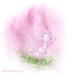 Pink Ballerina    http://hazelmitchell.com