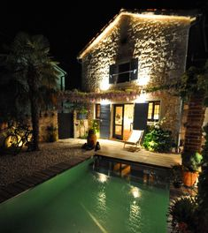 """🏡 Charming Istrian stonevilla """"Casa Mosaici"""", 12 m² bio pond, terrace with d. Guest Toilet, Private Pool, Dining Area, Perfect Place, Pond, Terrace, Bbq, Sweet Home, Villa"""