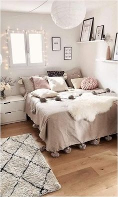 Room Design Bedroom, Modern Bedroom Design, Room Ideas Bedroom, Small Room Bedroom, Couple Bedroom, Dream Bedroom, Modern Teen Bedrooms, Decor Room, Bed Room