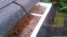 Loose nails and screws in your gutters may cause clogging- Contact us to schedule a free inspection before the issue worsens-