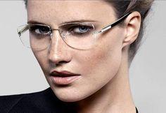 Big Eyeglasses | Spotlight on Lindberg Custom Rimless Lenses | The Eyewear Fashion Blog