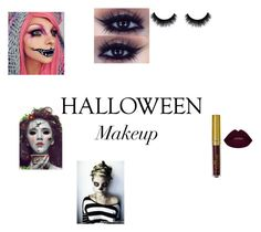 """""""Creeepy"""" by echogirl22 ❤ liked on Polyvore featuring halloweenmakeup"""