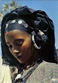 Tuareg girl, Niger