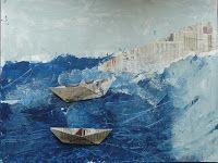 les petites têtes de l'art: Comme une vague d'Hokusai