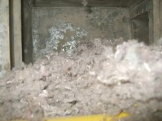 How often should you get your air ducts cleaned? This house is a long ways behind...
