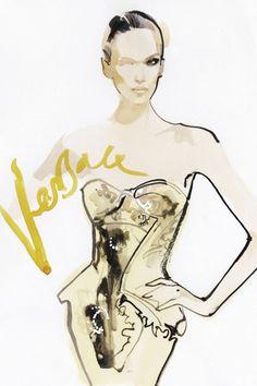 Illustration - Versace