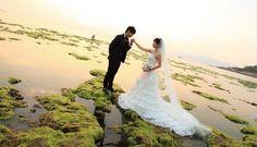 ảnh cưới đẹp bên bở biển