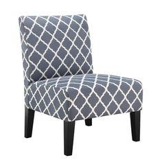 Zipcode™ Design Quatrefoil Slipper Chair & Reviews | Wayfair
