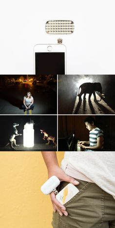 Our best selling Pocket Spotlight gives you great light, no matter where you are. Take better brighter phone photos. $15 for a limited time at the Photojojo Shop.