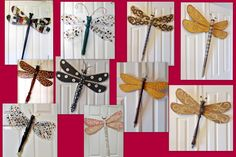 fan blade dragonflies, table leg dragonflies