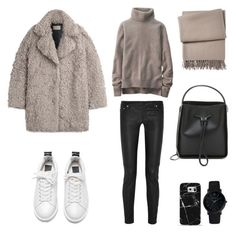 Untitled #526 by fashionlandscape on Polyvore featuring Uniqlo, Zadig & Voltaire, Maje, 3.1 Phillip Lim, Larsson & Jennings, Casetify and Yves Delorme