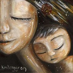 mother, woman, baby backpack, babywearing, wrapping baby, back pack, otherhood, gift for mom, infant, baby, daughter, brown hair, son, blonde hair, short hair, flower, eyes closed, cuddle, warmth, close, mother and child, print on canvas, sweet, smile