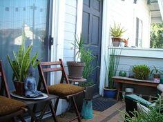 Ryan & Corky& Balcony Garden My Great Outdoors Condo Balcony, Apartment Balcony Decorating, Balcony Plants, Outdoor Balcony, Apartment Balconies, Outdoor Spaces, Outdoor Living, Outdoor Decor, Balcony Ideas