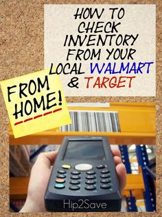 How to Check Inventory at Your Local Target & Walmart Stores Without Leaving Home - Hip2Save