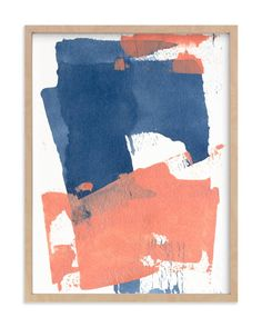 """""""Delightful No. 1"""" - Art Print by Julia Contacessi in beautiful frame options…"""