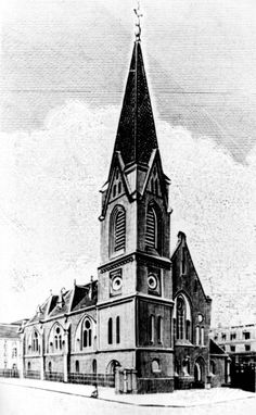 Matthäuskirche in Bredow/ Drzetowie