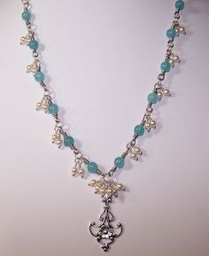 This beginner (jewelry making) project (glass pearl and crystal bead ...