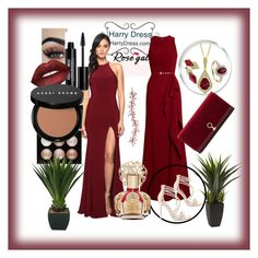 """""""Bez naslova #40"""" by sabahetasaric ❤ liked on Polyvore featuring Faviana, Elie Saab, Witchery, Steve Madden, Edward Bess, Lime Crime, Bobbi Brown Cosmetics, Vince Camuto and Louise et Cie"""