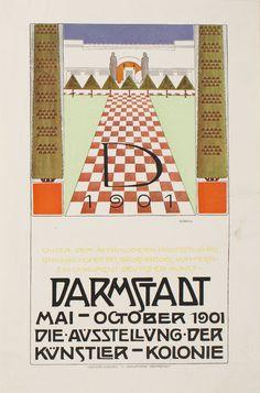 1000 images about darmstadt jugendstil on pinterest. Black Bedroom Furniture Sets. Home Design Ideas