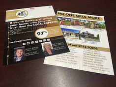 Real Estate Postcards, The Locals, Marketing