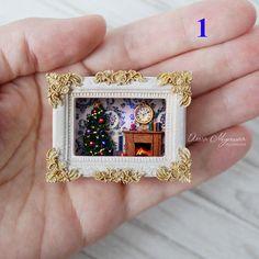 Miniature Christmas Roombox ♡ ♡ By Tinny Heiden Houses