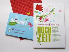 Hochzeitseinladung 02 von Liebesdienst auf DaWanda.com