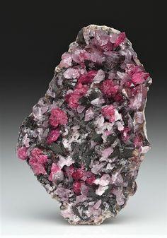 Roselite-Wendwilsonite - Aghbar Mine, Bou Azzer, Morocco