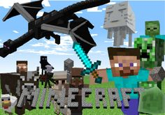 Resultado de imagen para minecraft poster